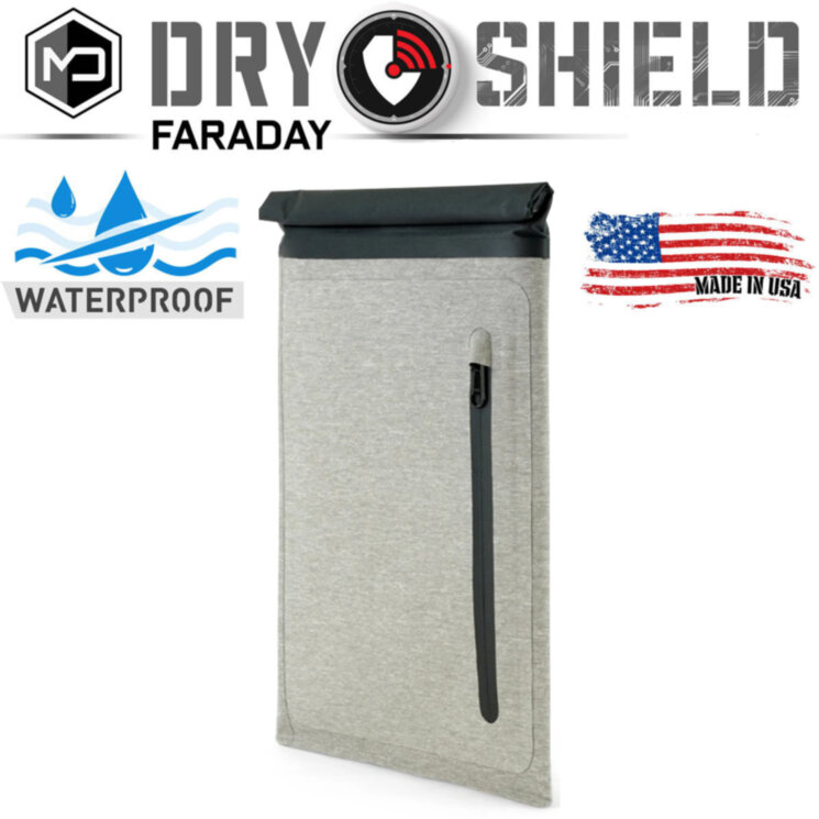 Экранирующий чехол MISSION DARKNESS™ DRY SHIELD FARADAY TABLET SLEEVE
